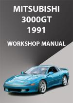 Mitsubishi 3000GT 1991 Workshop Manual