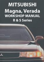 Mitsubishi Magna, Verada, Sigma 1990-1995 Workshop Manual